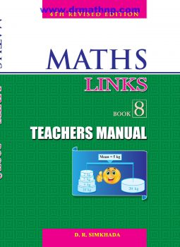 Teachers Manual - Maths Links 8